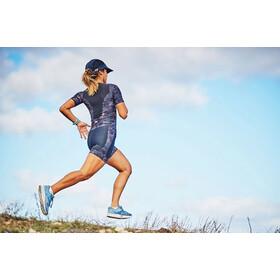 Zone3 Activate Plus Combinaison de triathlon manches courtes Femme, stealth camo-black/grey/pink